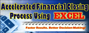 Accelerated Financial Closing Process Using Excel border=