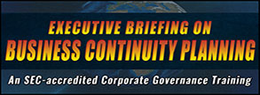 Executive Briefing on Business Continuity Planning