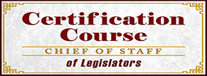 Certification Course for Chief of Staff of Legislators
