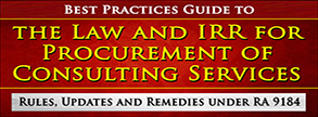 The Law and IRR for Procurement of Consulting Services