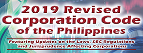 2019 Revised Corporation Code of the Philippines