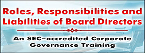 Roles, Responsibilities and Liabilities of Borad Directors