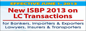 New ISBP 2013 on LC Transactions